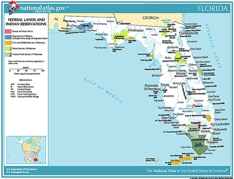 florida indian reservations map free indian and federal lands maps