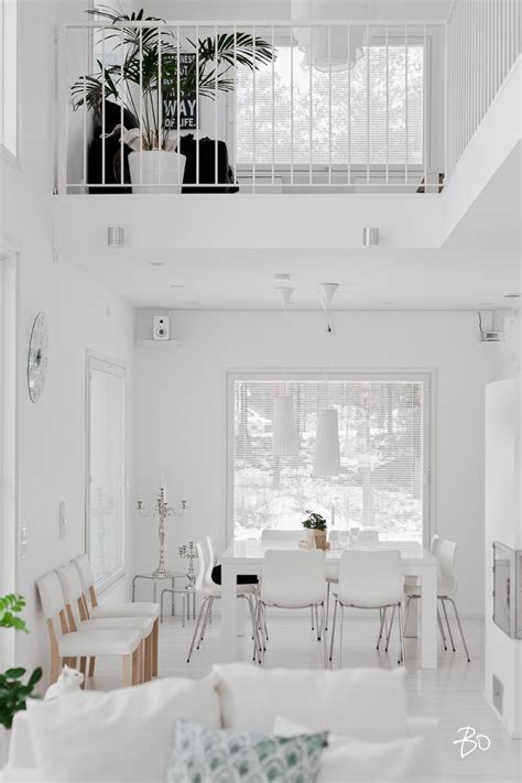 designing home interior in a white palette of