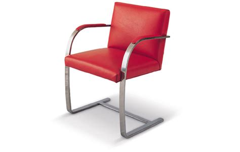 brno chair designed by mies der rohe
