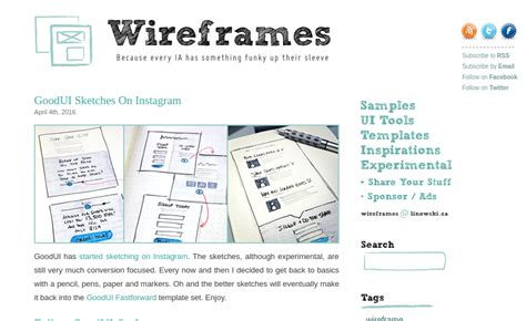 wireframes magazine 187 responsive layout wireframe 20 ux blogs every ux designer must follow