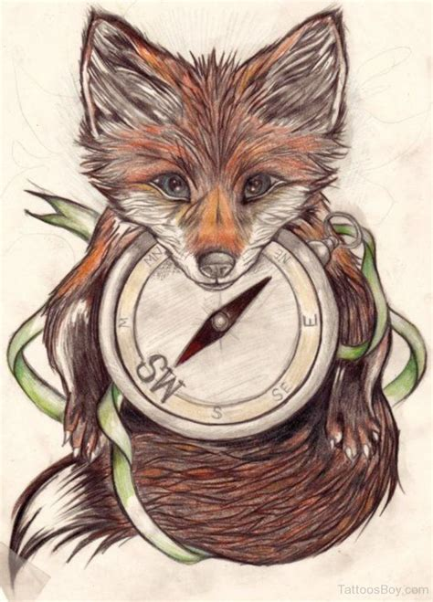 fox tattoo design fox tattoos designs pictures page 16