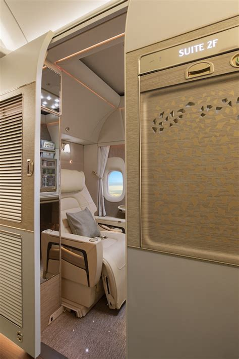 emirates virtual windows pics emirates new first class cabins are like private