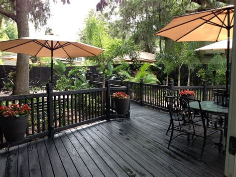 Black In Backyard by 17 Best Images About Backyard Deck With Black Waterproof