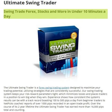 swing trader ultimate swing trader system