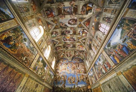 Michelangelo Sistine Ceiling by Vatican City Travel Guide Vacation Advice 101