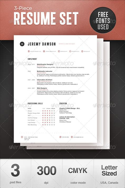 Stylish Resume Templates Free by 50 Professional Resume Styles And Ideas Sixthlifesixthlife