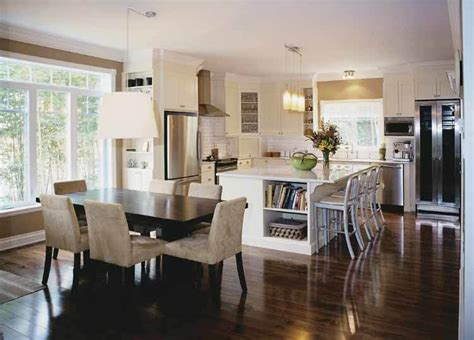 traditional dining room kitchen open floor plan gallery and 10 floor plans with great kitchens builder magazine