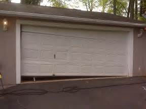Garage Entry Door Broken Garage Door 2 A Plus Garage Doors