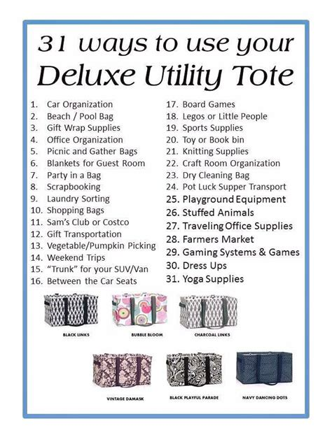 31 best images about for 1000 images about thirty one on utility tote large utility tote and organizing