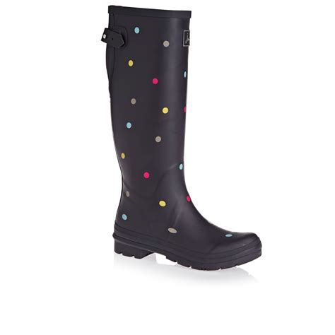 joules boots joules adjusta adjustable back wellington boots grey