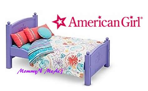 american girl dolls beds american girl floral bed collection opening review 18
