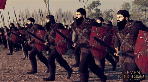 house umber house umber heavy swordsmen image seven kingdoms total war game of thrones mod