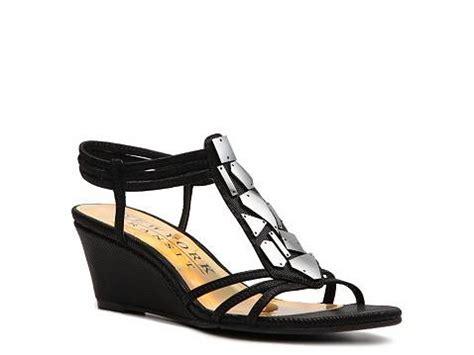 new york transit shoes new york transit greater feeling wedge sandal dsw