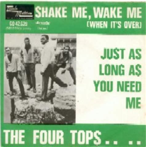 The Me Me Me S - shake me wake me when it s over by the four tops this