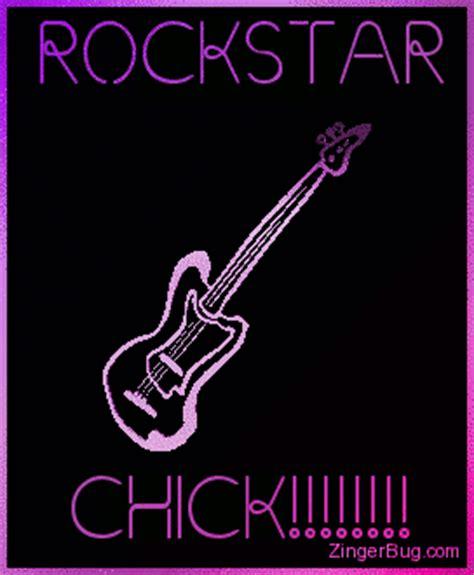 download happy birthday rock guitar version mp3 mp3 id rockstar chick 3d guitar glitter graphic greeting