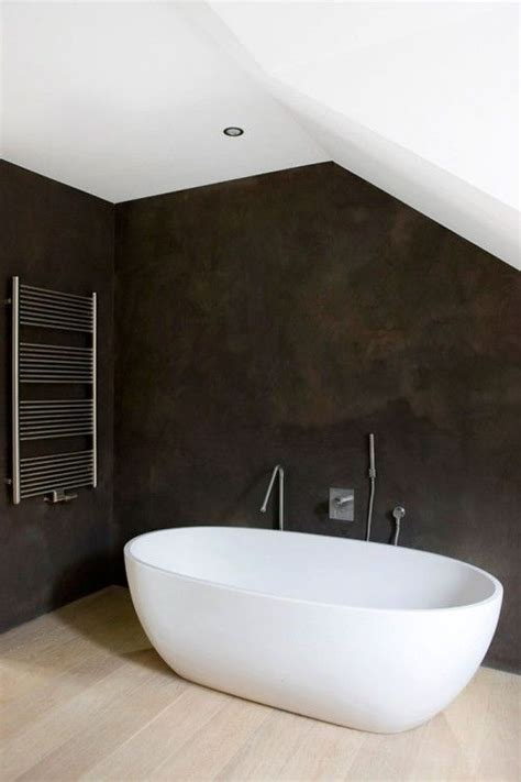 plaster for bathroom walls venetian plaster walls in dark grey bathrooms
