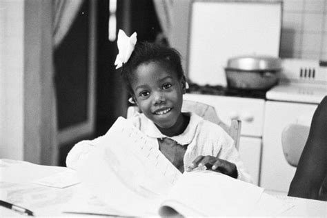 ruby bridges hair black history 6 year old ruby bridges changes the face of