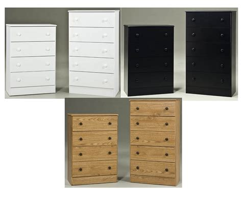 black discount 4 drawer chest