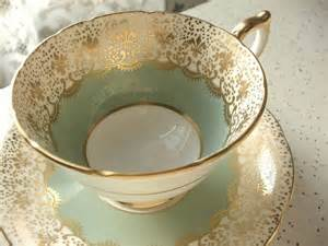 vintage 1950 s aynsley cup and saucer antique tea cup set