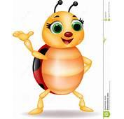 Funny Ladybug Cartoon Waving Hand Stock Photos  Image