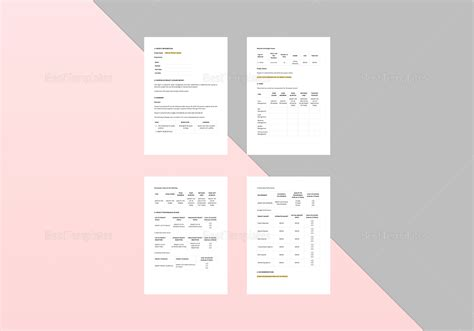 Project Closure Report Template In Word Apple Pages Simple Project Closure Report Template