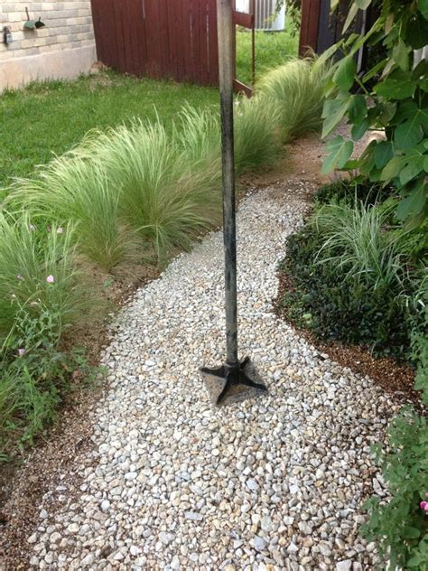 build  stable pea gravel path gravel landscaping