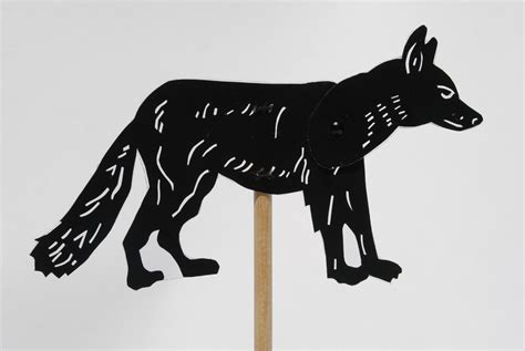 Wolf Puppet Template by Wolf Shadow Puppet Cut