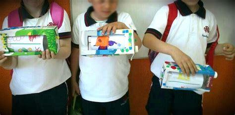 medios de comunicacion hecho con material reciclado colegio ram 243 n y cajal medios de comunicaci 243 n en infantil ii