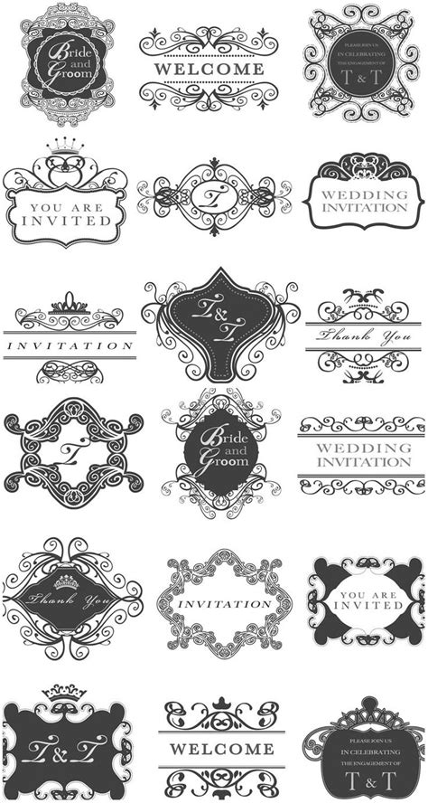 wedding invitation graphic design vector 62 best vectors images on silhouette images vectors and invitations