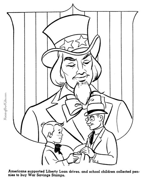 coloring pages for uncle uncle sam coloring pages coloring home