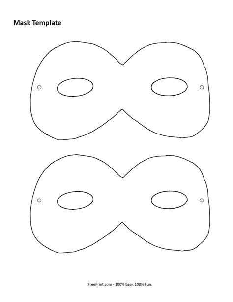 printable mask template free search results for printable mask template calendar 2015