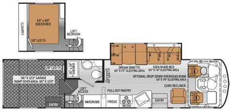 thor hauler floor plans 2015 thor motor coach outlaw 37ls class a gas lawrenceville ga national indoor rv centers