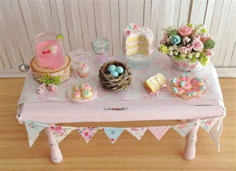 Shabby Chic 5595 by 320 Best Miniatures Easter Images On Dollhouse
