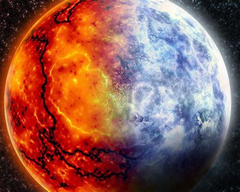 Earth Fire Heaven Hell Sun