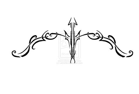 tribal bow and arrow tattoo 22 bow and arrow designs