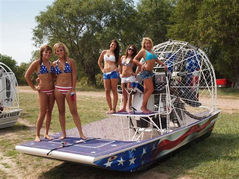 american fan boat 6 thunder on the loup more girls airboats southern
