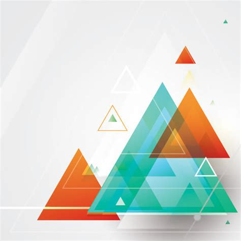 Cinta Pyramid abstract triangle shapes vector design free vectors ui