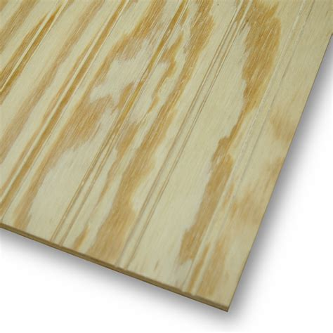 beaded plywood shop beaded plywood untreated wood siding common 48 in x