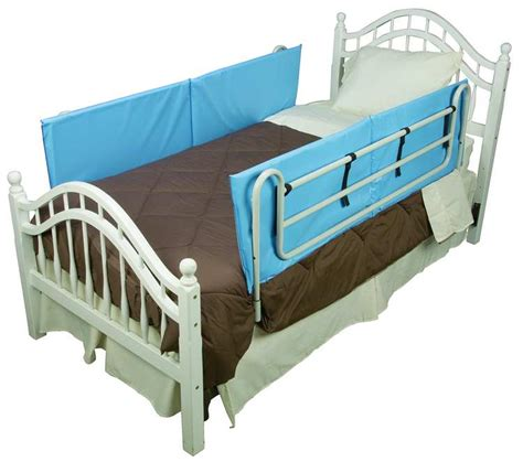Bed Safety Rails by Vinyl Bed Rail Cushions 1 Pair Bed Safety Rails Home
