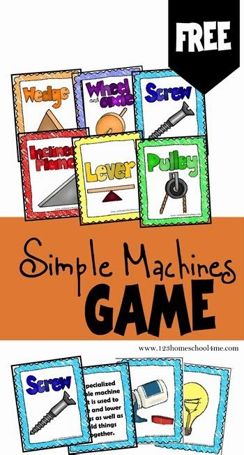 Simply Me Graphic 2 free simple machines free homeschool deals