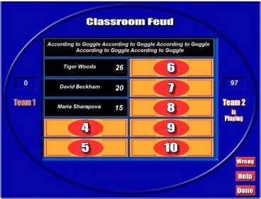 Classroom Feud Download Classroom Feud Complete Family Feud Classroom