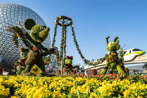 Wdwthemeparks Com Epcot Flower Garden Festival Photos Flower And Garden Festival