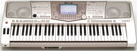 Keyboard Yamaha A2000 lessons start here introduction