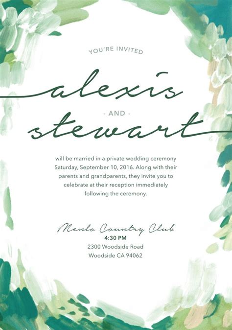 only best 25 ideas about wedding invitation wording reception only ceremony