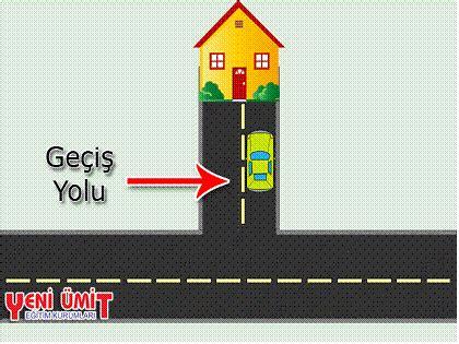 gecis yolu nedir trafik kurallari trafik isaretleri