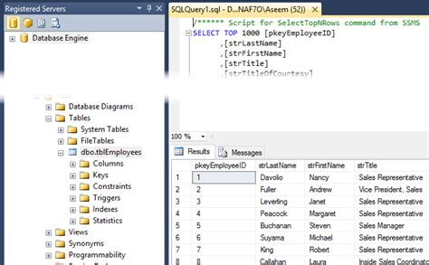 select from tables migrate data from ms access to sql server database