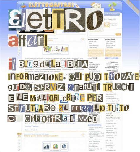 crea parole con lettere creare parole in stile lettere di giornale ritagliate