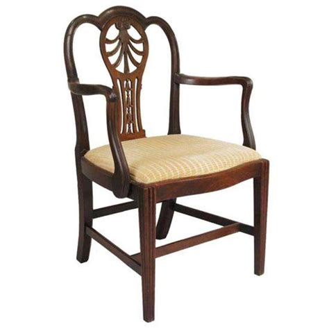 english armchair english george iii mahogany open armchair for sale at 1stdibs