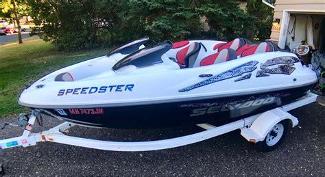 sea doo bombardier boat 2000 sea doo bombardier speedster jetboa whiteford