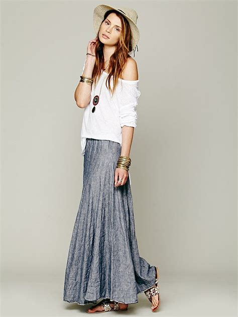 Cp My Stripe cp shades worker stripe chambray maxi http www